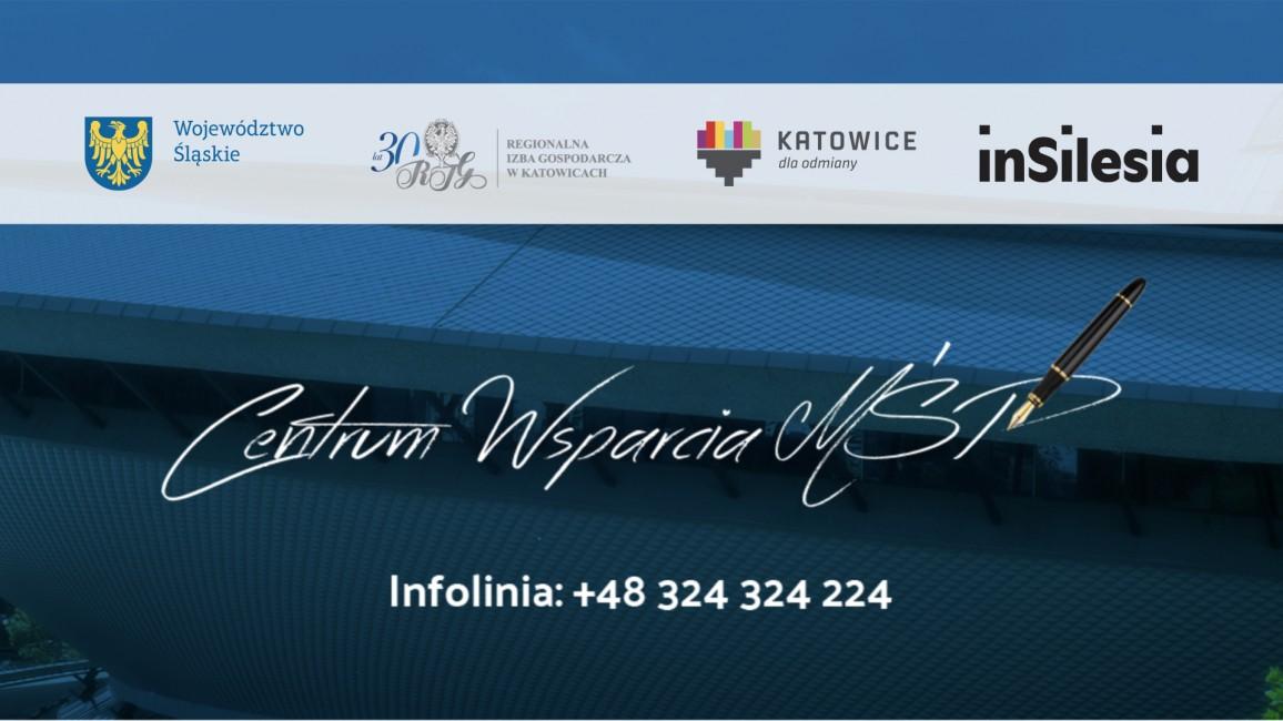 banner promujący Centrum Wsparcia MŚP