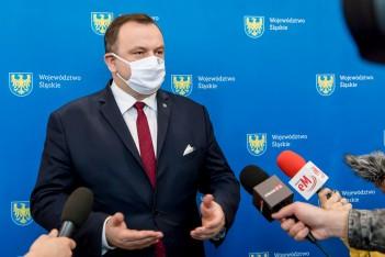 zdjecie przedstawia Marszałka Województwa Śląskiego