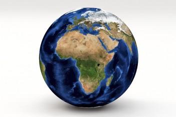 Afryka na globsuie
