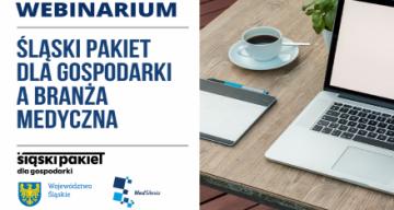 plansza przedstawia informację o webinarium
